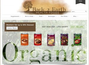 <strong>Back 2 Earth Health Foods</strong>