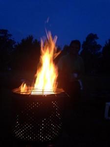 Bonfire at B2E